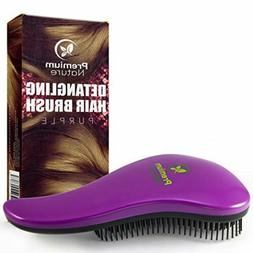 Detangling Hair Brush Best Comb No Pain Brush For Curly Wavy