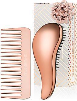 detangling hairbrush comb set best wet dry