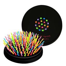 CANDYLOVE Detangling & Volumizing Hair Straightening Brush w
