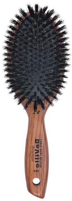 Spornette DeVille Cushion Oval Boar Bristle Hair Brush  with