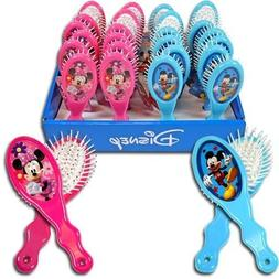 disney mickey minnie hair brush