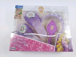 Disney Princess Rapunzel Accessory Set Tiara, Shoes, Hair Br