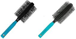 Spornette - Double Stranded Nylon Tipped Round Hair Brush  -