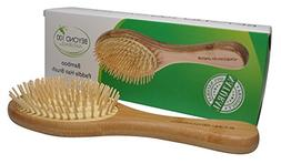 Dry Scalp Paddle Brush for Hair -Large - by Beyond 100 Natur