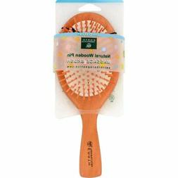 Earth Therapeutics Natural Wooden Pin Massage Brush Large -