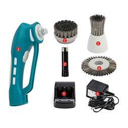 QETU Electric Cleaning Brush, Multifunctional Hood Metal Sho