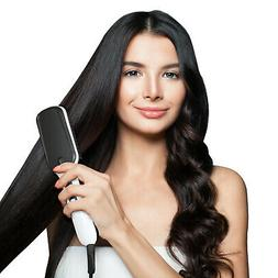 Electric Hair Straightening Brush - Ion Technology Hot Comb