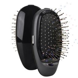 Electric Hairbrush Takeout Combs Anti-frizz Hair Brush Massa