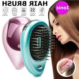 Electric Ionic Hair Brush Takeout Pocket Ion Hair Brush Comb