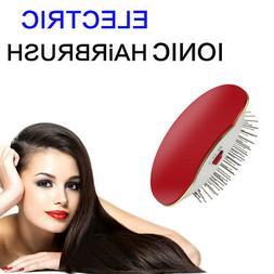 Electric Ionic Hairbrush Takeout Mini Hair Brush Comb Massag