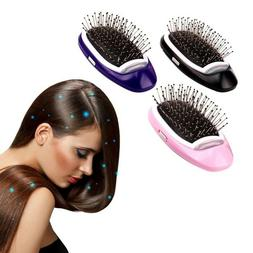 Electric Ionic Hairbrush Takeout Negative Ion Massage Hair B