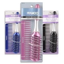 Conair Styling Essentials Brush & Comb Set