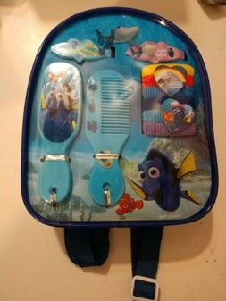 Finding Dory Hair Accessory Kit Clips Hair Ties Brush Mirror