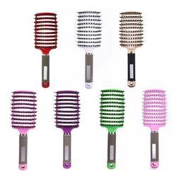 <font><b>Hair</b></font> Scalp Massage Comb Hairbrush Bristl