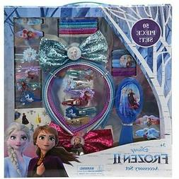 Frozen 2 Accessory Set Includes Brush Bows Hair Clips Pony T