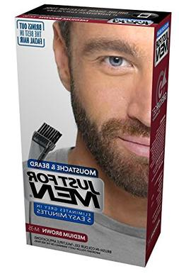 JUST FOR MEN Color Gel Mustache & Beard M-35 Medium Brown 1