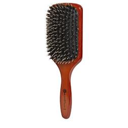 Ion Golden Wood Boar/Porcupine Paddle Brush