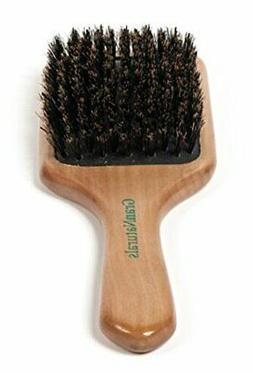 GranNaturals Boar Bristle Hair Brush for Women and Men - Nat