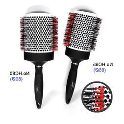 NAHA Hair Brush Ceramic Thermal Ionic Round Brushes Nylon Pr