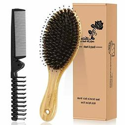 Hair Brush Comb Set for Curly Thick Long Fine Dry Wet Hair,B
