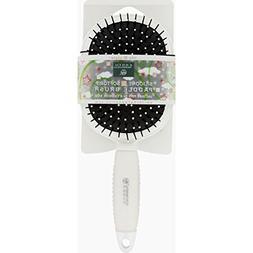 Earth Therapeutics Hair Brush - Paddle - Silicon - White - 1