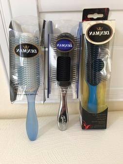 DENMAN Hair Brush Made in UK Classic Styling Plastic YOU PIC