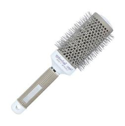Hair Brush Nano Thermal Ceramic Ionic Round Barrel Comb Styl