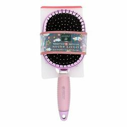Earth Therapeutics Hair Brush - Paddle - Silicon - Pink - 1