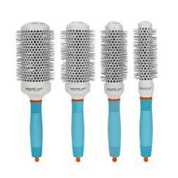 Hair Brush Thermal Ceramic Ionic Round Barrel Heat Resistant