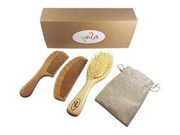hair comb brush set