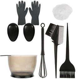 Hair Dye Color Brush Bowl Combo Coloring Kit 6 pieces Set Ti