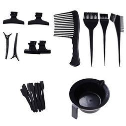 LIGONG 23 Pieces Hair Dye Coloring DIY Beauty Salon Tool Kit