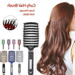 hair scalp brush paddle curly hairbrush massage
