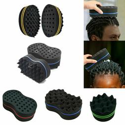 Hair Sponge Brush Twist Curl Barber Pro For Afro Dreads Coil