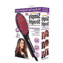 hair straightener brush ionic straightening