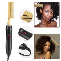 Hair Straightener Flat Irons Straightening Straight Brush Ho
