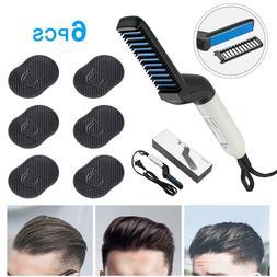 Hair Straightener + Pocket Comb For Men Multifunctional Curl