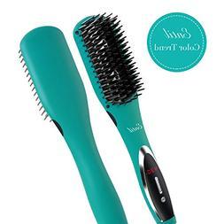 Hair Straightening Brush Straightener - Ceramic Professional