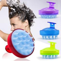Handheld Silicone Scalp Shampoo Massage <font><b>Brush</b></