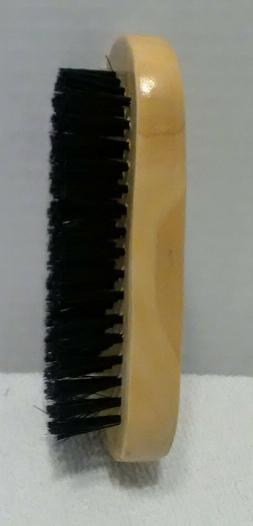 HARD BRISTLE WAVE club HAIR BRUSH durag MAN wood
