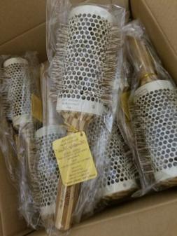healthy hair bamboo ceramic thermal brush 2