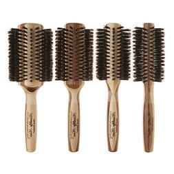 healthy hair round boar bristle brush