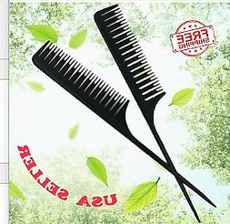 Highlighting Hair Comb ABS Weaving for Salon Dyeing Tail Com