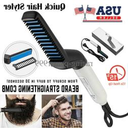 hot men hair straightener comb curling iron
