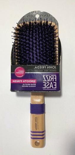John Freida Frizz Ease Smooth Finish Boar Bristle Paddle Hai