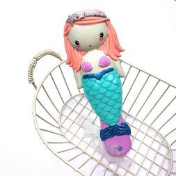 Disney Kids Comb 3D Mermaid Hair Comb Hair Brushes Hair Care