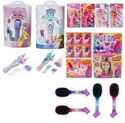 Kids HairBrush Girls Hair ClipSet My little Pony,Disney Prin