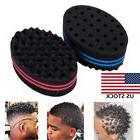1 PC Magic Wave Barber Sponge Foam Hair Brush Curler Maker S