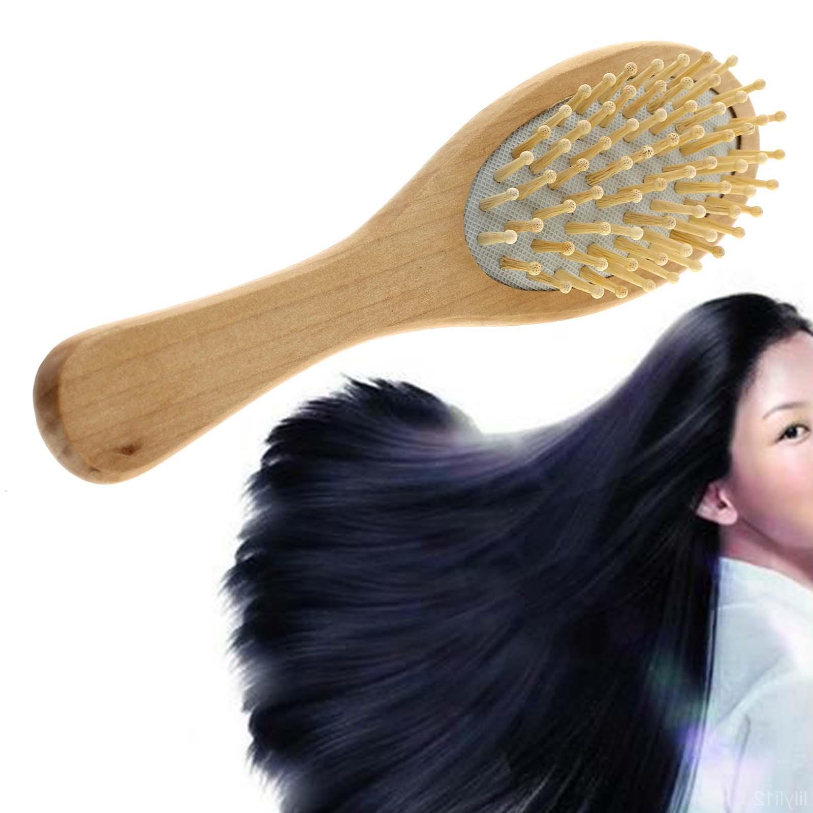 1* Natural Hair Care Massager Wood Massage RS