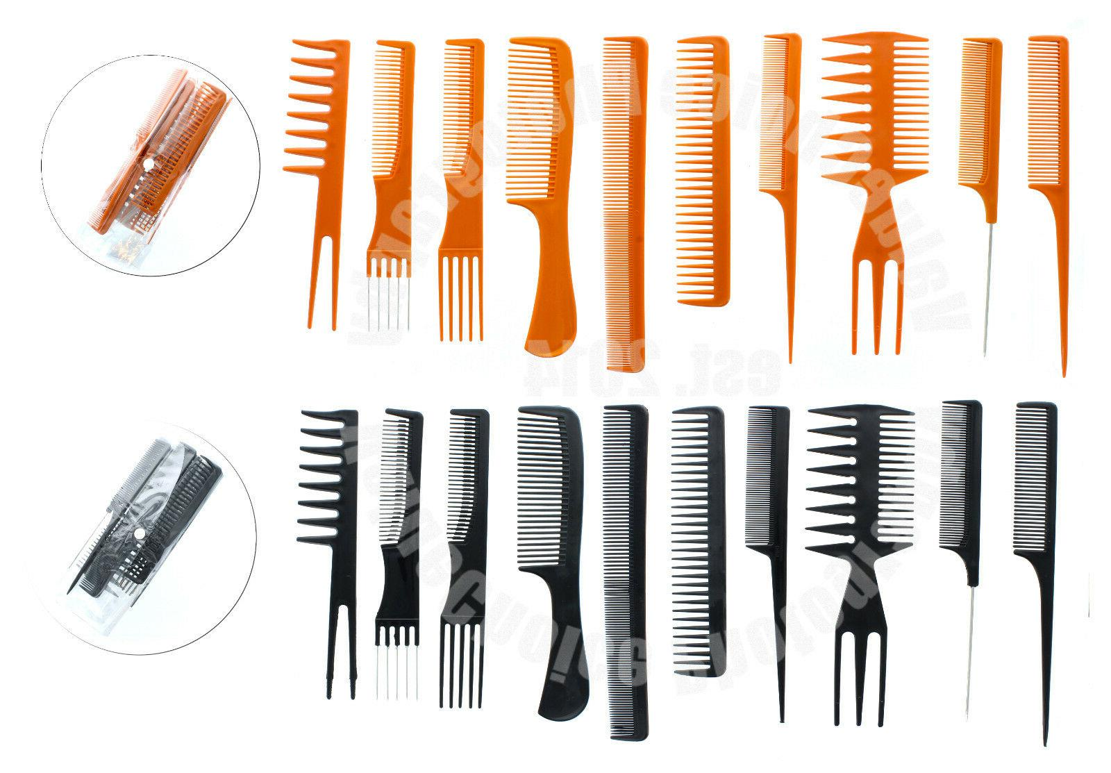 10 piece pro salon hair styling hairdressing